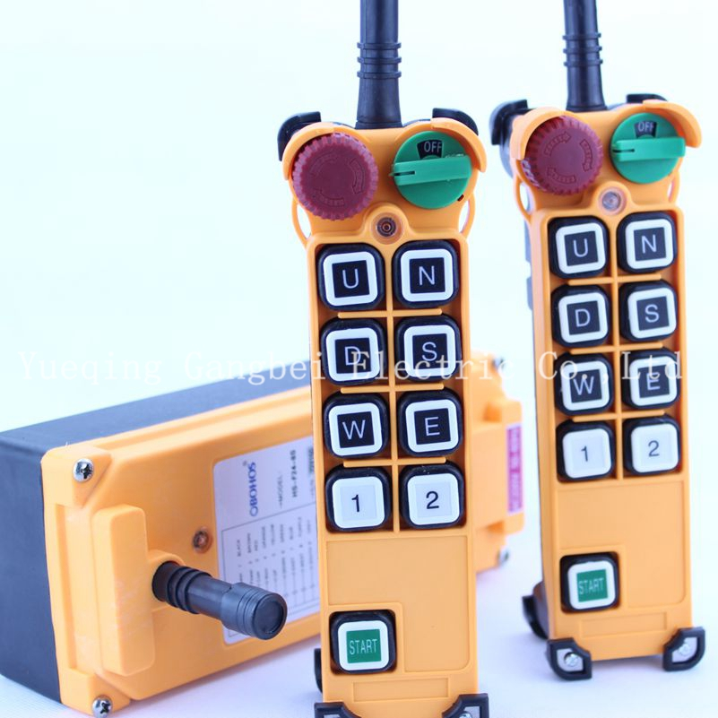 HS-8S (include 2 transmitter and 1 receiver)  crane remote control  Your order note need voltage:380VAC 220VAC 36VAC  24VDC литой диск replica bk 794 8 5x20 6x139 7 d106 2 et25 hs