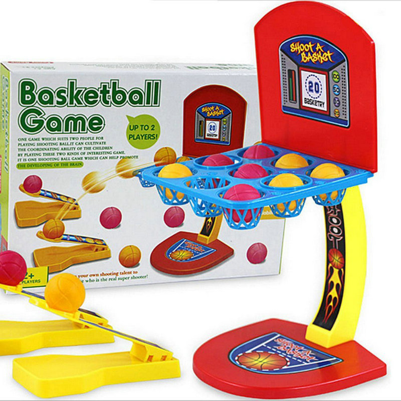 Mini Finger Ejection Basketball Shooting Game Desktop Play Assemble Machine Parenting Interactive Coordination Kid Sport Toy New