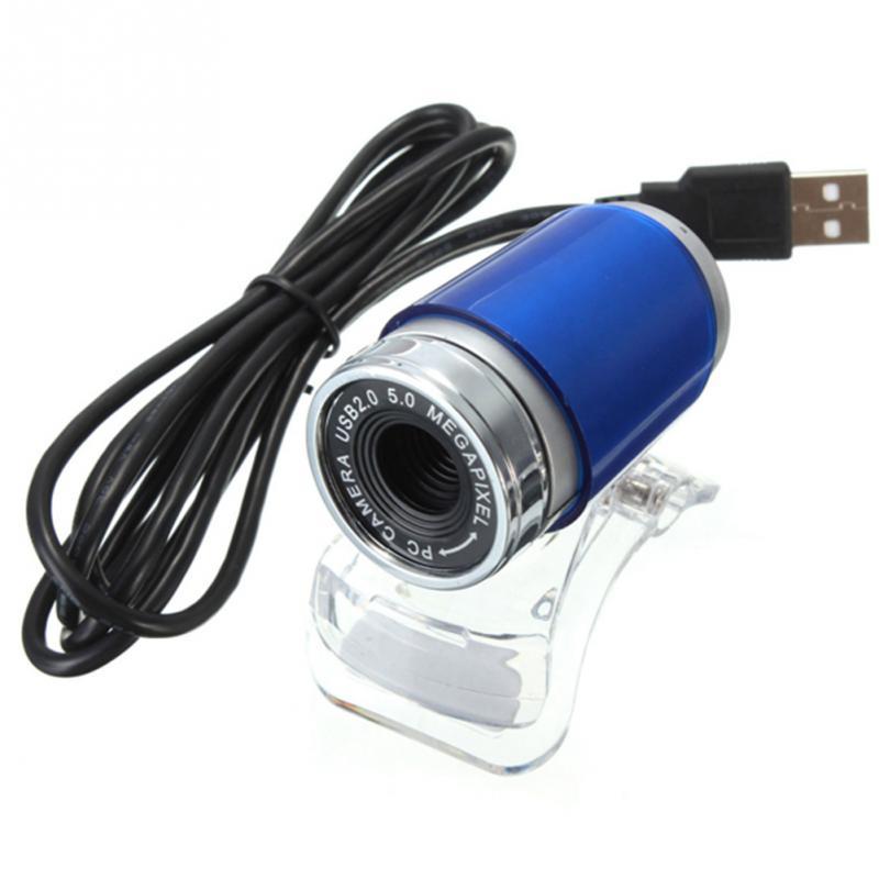 HD 0.8Mega USB Webcam HD Web Camera With Microphone 1.2M USB Cable ...