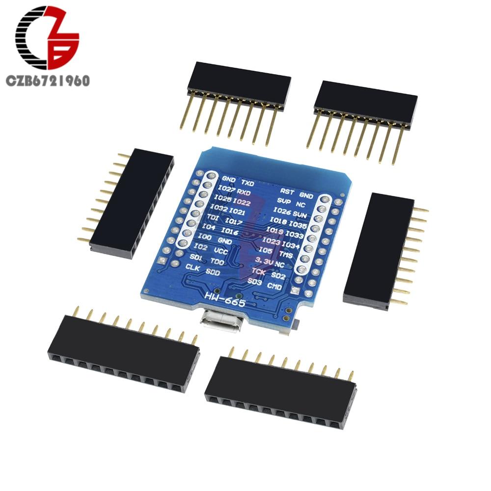 ESP32 ESP-32S ESP8266 Wifi Bluetooth Development Board CP2104 WEMOS D1 MINI  ESP-WROOM-32 Module Micro USB for Arduino