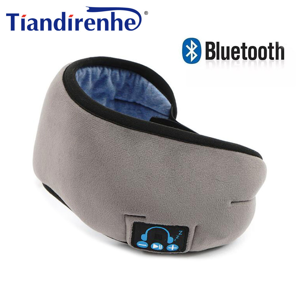2019 Manufacturers New Wireless Bluetooth V5.0 Headset Call Music Sleep Artifact Breathable Sleep Eye Mask Headphone