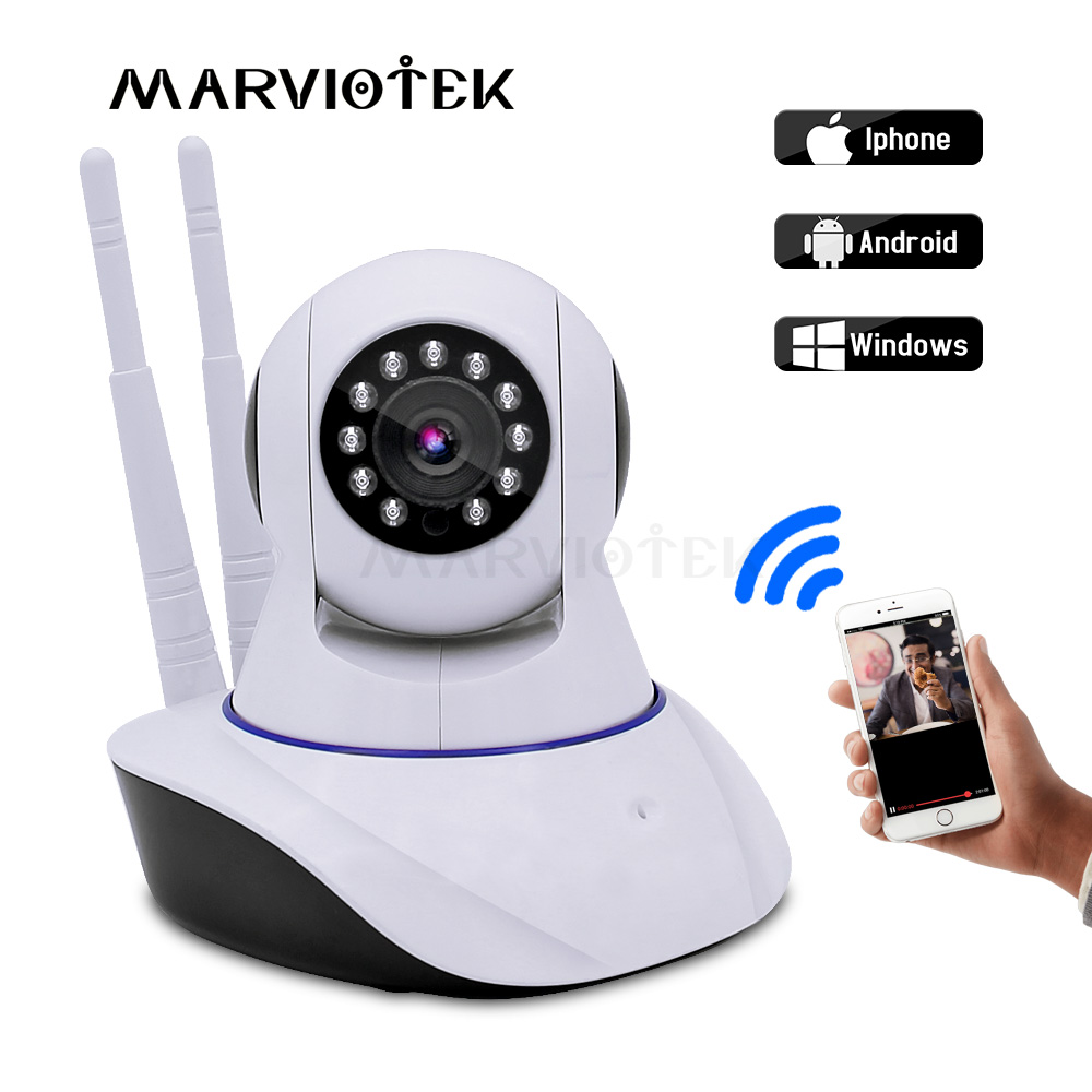 720P HD Baby Monitor WiFi Wireless IP Camera WiFi Mini Network Home Security Audio Video Surveillance CCTV Camera Night Vision