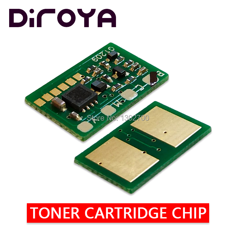 40PCS 38K 45536416 45536415 45536414 45536413 Toner Cartridge chip For <font><b>OKI</b></font> <font><b>C931</b></font> C941 C911 C942 C 911 931 printer power reset image