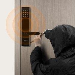 Xiaomi Mijia LOOCK klasyczny inteligentny Blokada z użyciem linii papilarnych klucz/APP sterowania Phantom hasło 30 odciski palców bezpieczeństwa w domu 4