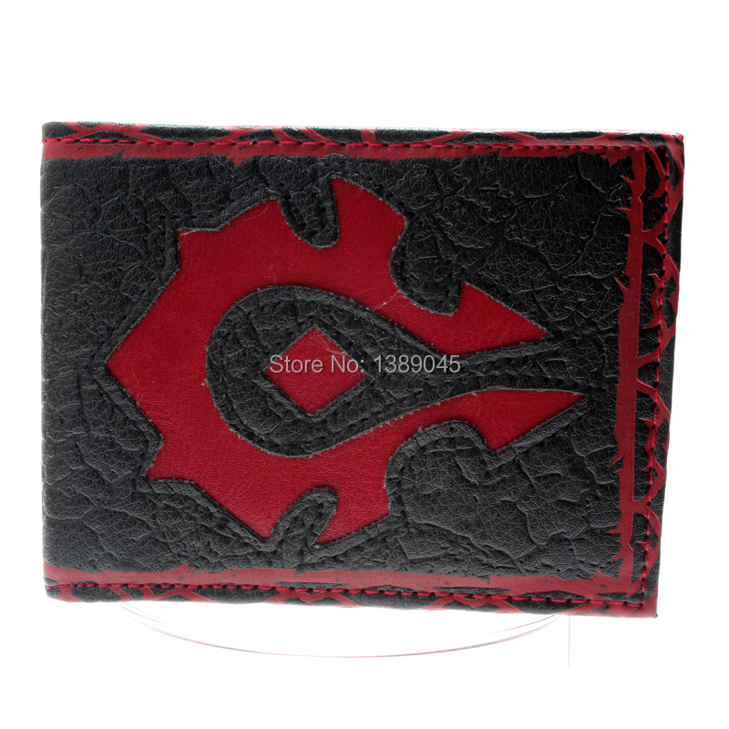 World Of Warcraft For The Horde Wallet Young Men And Women The Student Individuality Original Short Fashion Purse DFT-1265