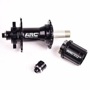 Image 3 - Bicycle Hubs Sealed Bearing MTB Mountain Bike Hubs Quick Release set 32 28 36Holes Disc Brake QR 4 Bearings 4 Pawls 399g ARC 006