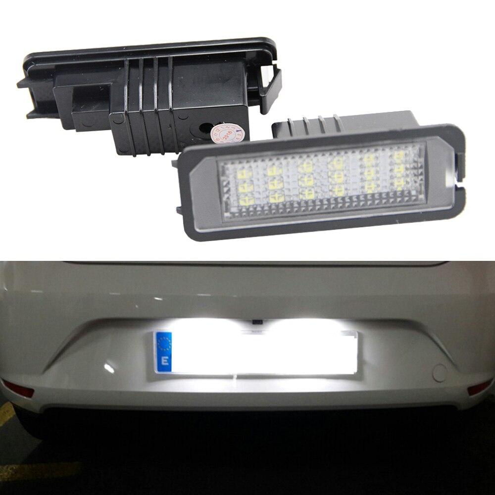 FOR MK4 MK5 MK6 PASSAT B6 EOS LED NUMBER LICENSE PLATE LIGHT ERROR FREE GOOD DAD