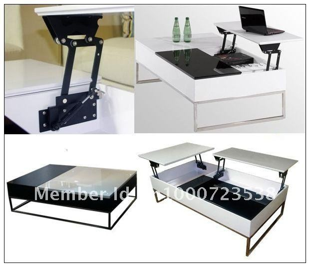 Lift Up Coffee Table Mechanism With Gas Spring Table
