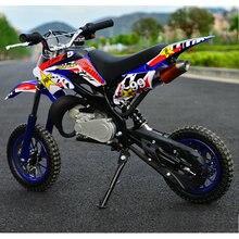 Двухколесный небольшой внедорожный горный мини-мотоцикл Скутер детский бензин картинг взрослый легкий спортивный автомобиль 49cc ATV
