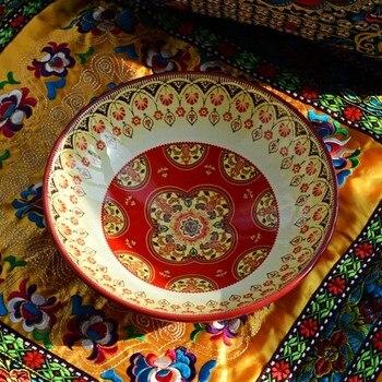 Earendil/Bohemian amorous feelings restoring ancient ways of ceramic tableware/bayreuth bowl of curry/fruit salad bowl