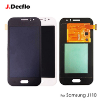 OEM AMOLED OLED For Samsung Galaxy J1 ACE J110 LCD Display Touch Screen Digitizer Assembly Replacement 4.3 Black White