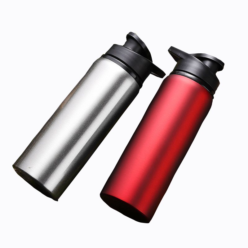 Portable Bicycle Water Bottle Outdoor Sport Drink Jug Leak proof Cup  Aluminum Alloy Bike Bottle 700ML 4 Colors Bike Accessories|Bicycle Water Bottle| |  - title=