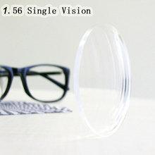 Оптические 1,56 единое видение сферические НС ТСМ УФ линзы с диоптриями для близорукости дальнозоркости astagmatism