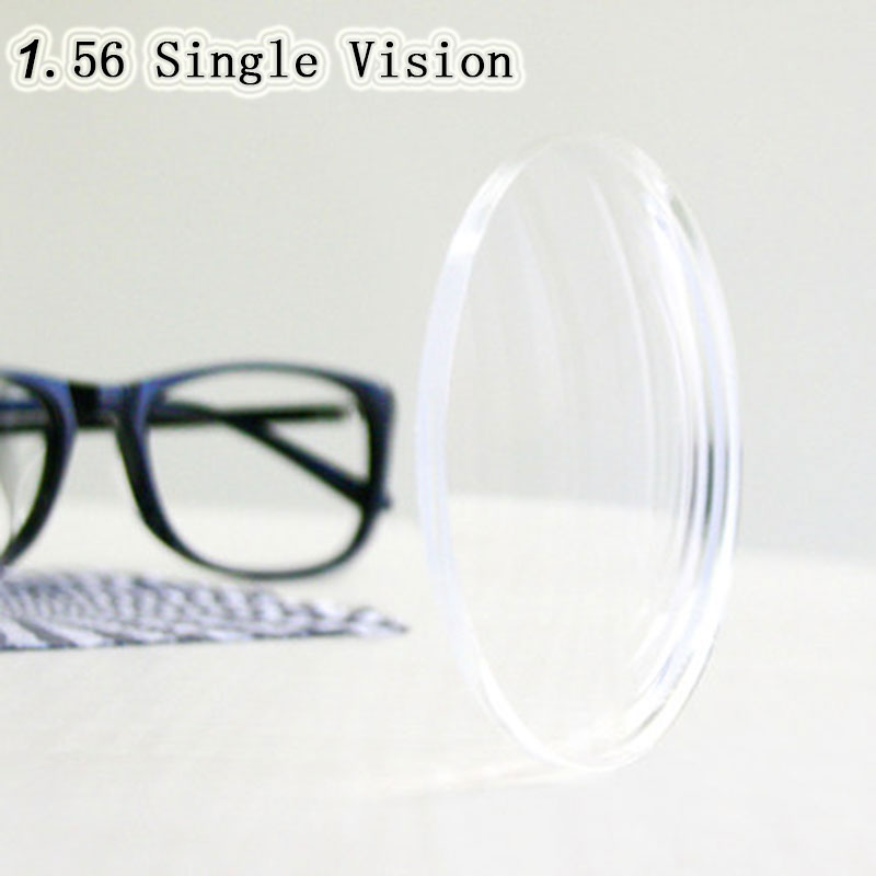 Optical Prescription 1.56 Single Vision Aspheric HC TCM UV Resin Prescription Lenses For Myopia Presbyopia Astagmatism
