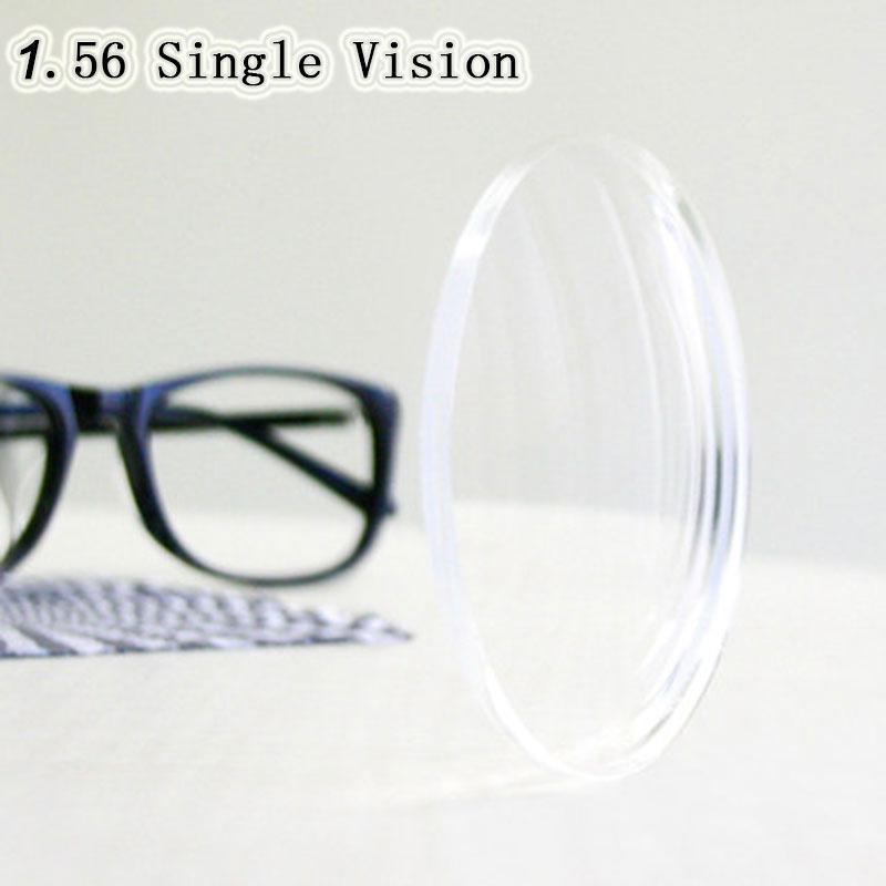 Optical Prescription 1.56 Single Vision Aspheric HC TCM UV Resin Prescription Lenses For Myopia Presbyopia Astagmatism