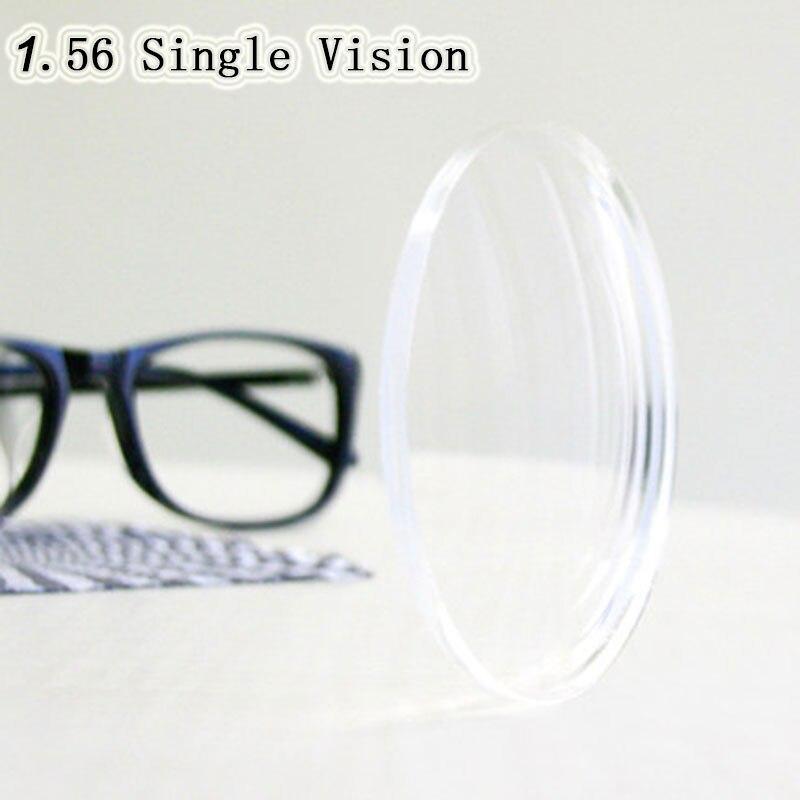 Optische Verordnung 1,56 Einstärken Asphärische HC TCM UV Harz Brillenglas für Myopie Presbyopie Astagmatism