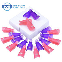 MISMXC Nail Soak Off Cap Clips UV Gel Polish Remover 20 Pieces With 900 Pack Nail