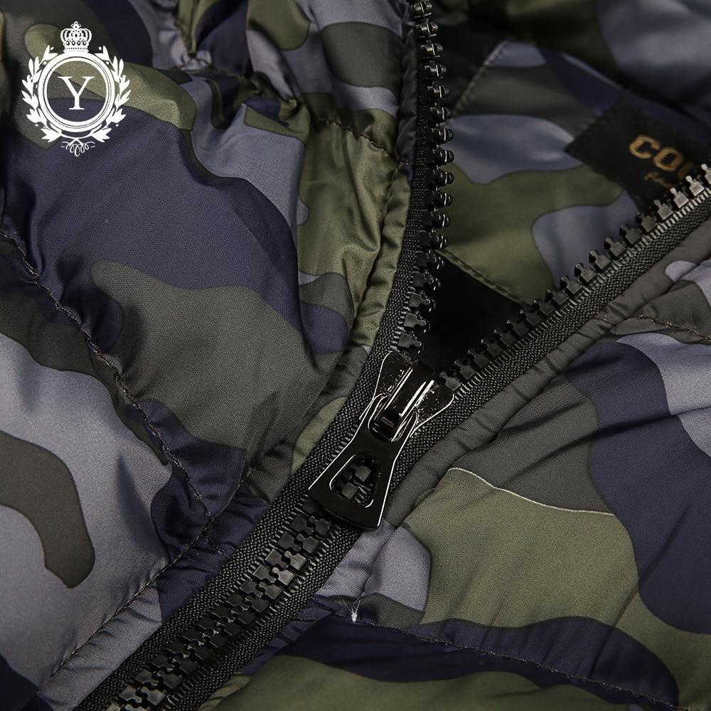 COUTUDI Novo 2018 zimske jakne telovnik s kapuco s potiskanimi - Moška oblačila - Fotografija 4