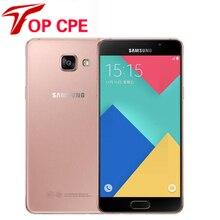 Оригинальный samsung galaxy a5 2016 a5100 оригинальный разблокирована сотовых телефонов 5.0 Дюймов Quad Core 13 МП Камера 16 ГБ Dual Sim восстановленное