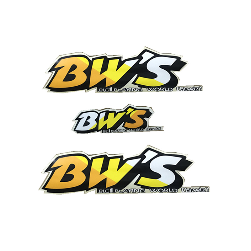 Motorcycle Stickers For Yamaha BWS50 Motorcycle Scooter Body Fairing Sticker Body Decals BW'S Logo Decal