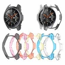 6 couleurs PC étui pour samsung Gear S3 frontière montre coque couverture écran protecteur pour galaxie montre 46MM Sport montre