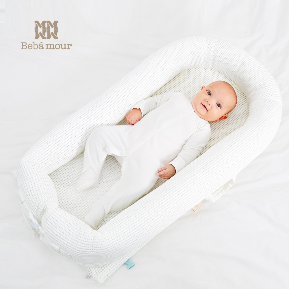Baby Travel Mattress Us 144 04 Aliexpress Buy Bebamour New Bionic Baby Crib Washable Breathable Travel Bed Portable 3d Bionic Crib Mattress For Newborn Babies From