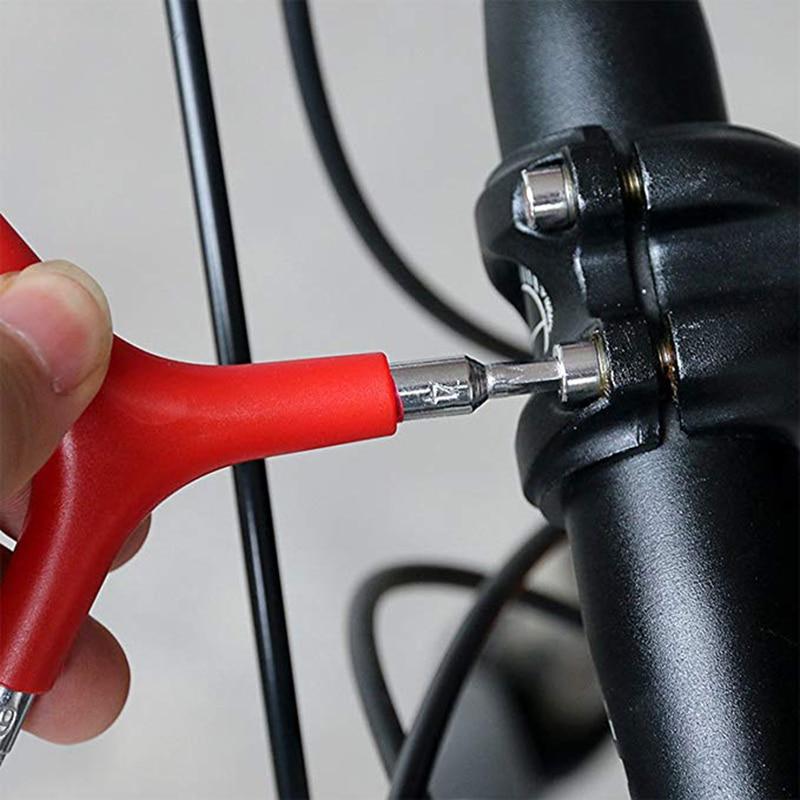 3 Way 4/5/6mm Spanner Bike Allen Hex Wrench Bicycle Key Tools MTB Road Bike Hexagonal Repair Wrenches  Y Type