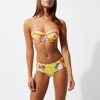 Female Brassiere Sets Summer New Style Bikini Women Push Up Bra Sexy Panty Briefs 2 Colors