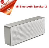 Original Xiaomi Mi Bluetooth Speaker Square Box 2 Stereo Portable Bluetooth 4.2 High Definition Sound Quality 10h Play Music AUX