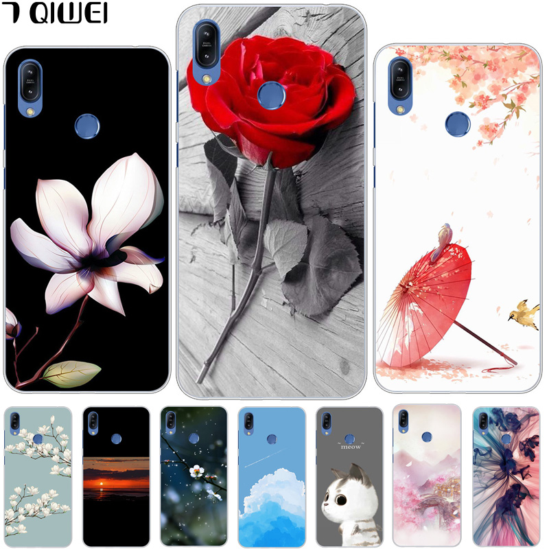 6.3'' ZB633KL For Asus Zenfone Max M2 ZB633KL Case Silicone Soft Phone Case For ASUS Zenfone Max M2 ZB633KL ZB 633KL TPU Clear