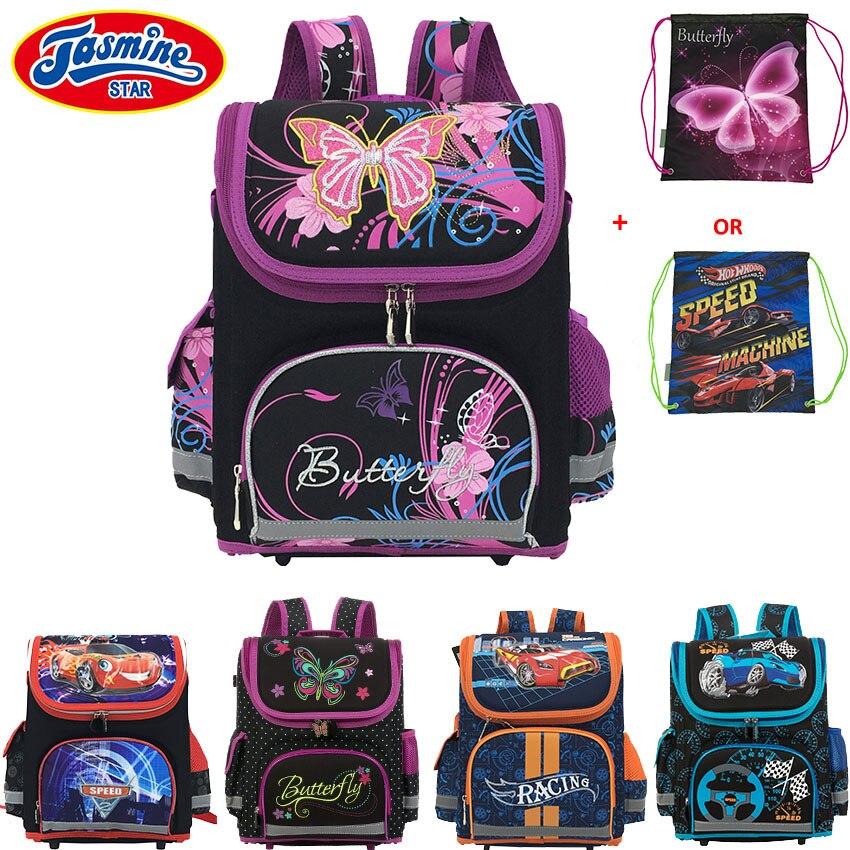 JASMINESTAR Children School Bag Winx Monster High Butterfly Girls Primary font b Backpack b font Student