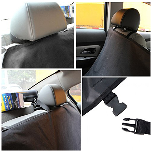 Promotion! Tirol New Pet/Cat/Dog Seat Cover Waterproof Mat Car Back Seat Cover Bench Protector with Belts