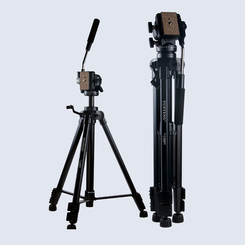 Photo Studio New Tripod Yunteng VCT-880 Aluminium Tripod for Canon Nikon DSLR Camera Support Flexible Photography Stand Kit