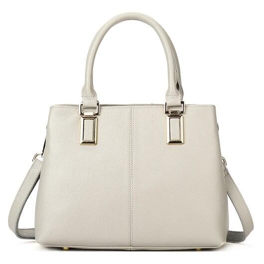 цена на YILIAN Brand lady dermis Shoulder bag double interval cowhide handbag Leisure style women handbag H8319
