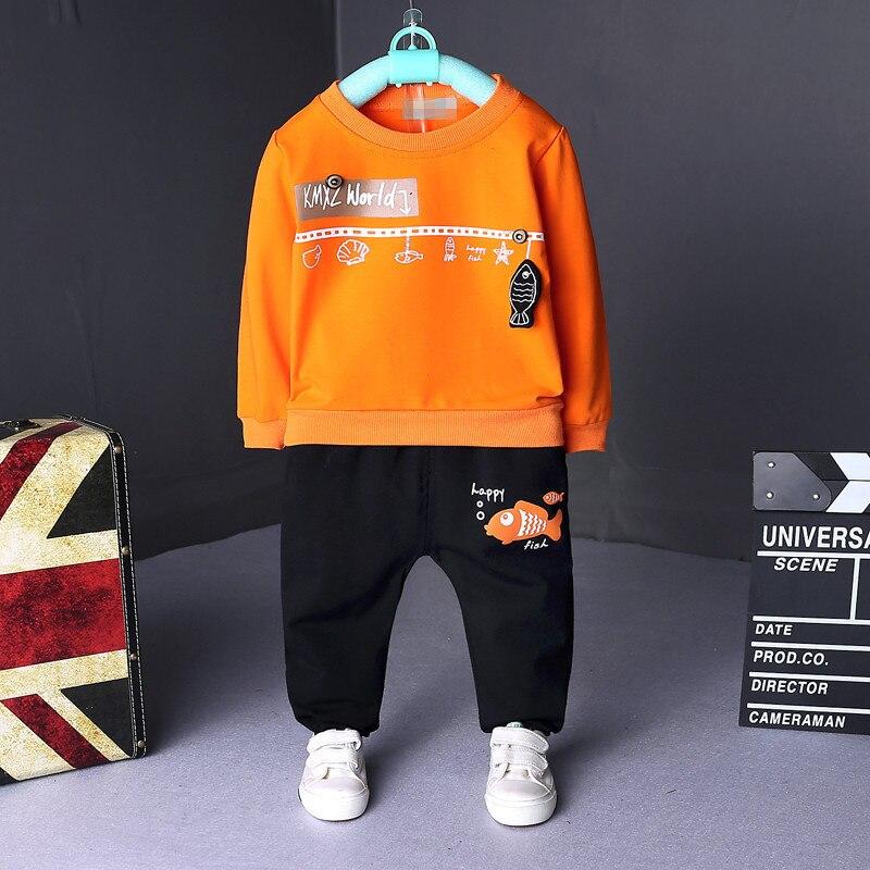 Children Clothing Set Babys Sets Childrens Kids Autumn Boy Outfit Sports Suit Set 1-4T Boys Girls Set Child Suit Clothes