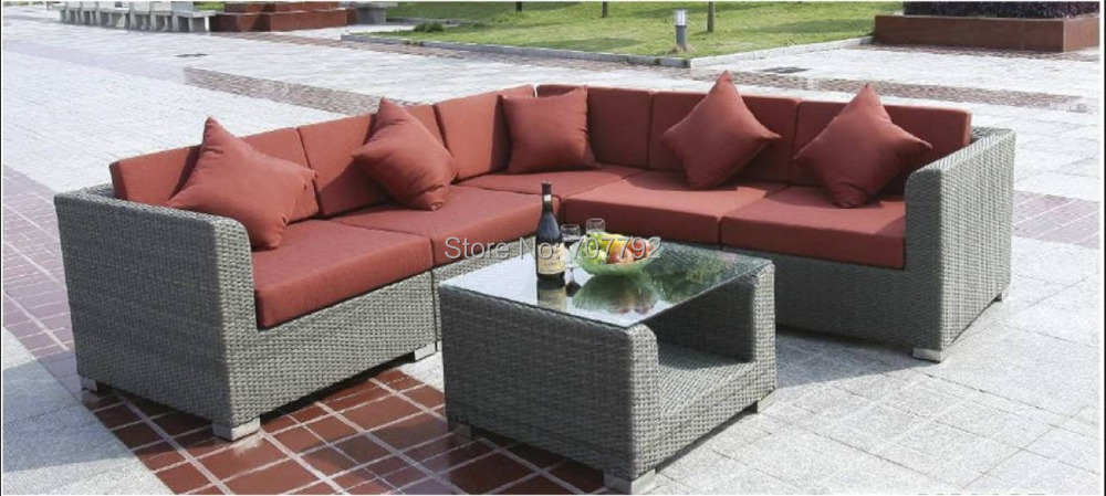 2017 new design cheap garden rattan furniture sofa set-in ...