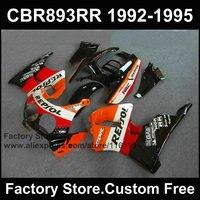 Custom ABS Motorcycle fairing set for HONDA CBR900RR 1992 1993 1994 1995 CBR 893RR 92 93 94 95 CBR 893 repsol fairings bodyworks