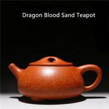 Бесплатная доставка 280 мл Исин Подлинная фиолетовый глина Чай горшок известный дракон крови песок кунг-фу Чай горшок Заводские подарочная коробка