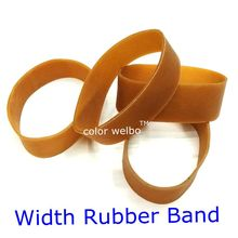 rubber band  Folding length 10cm  width 2cm nature  rubber band for stationery holder цена и фото