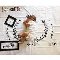JOY-ENLIFE 1 pc Enfants fond tissu d'anniversaire photo props baby shower ami famille parti Décoratif événement fournitures blanc