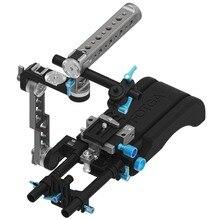 FOTGA DP500III Schulterpolster + Grundplatte + ENG Stil Rig Kit für DSLR Kamera BMCC