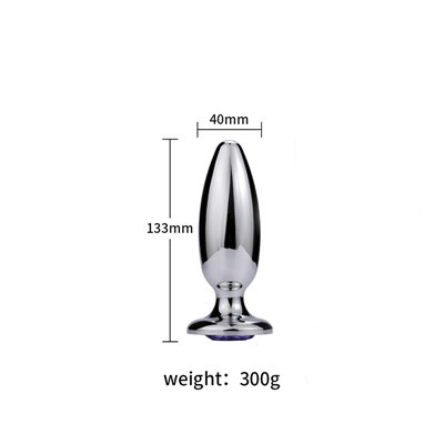 Size Metal XL dwarf anal plug