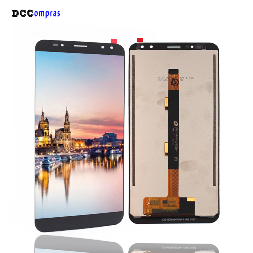 Original For Ulefone Power 3 LCD Display Touch Screen Assembly Repair Parts For Ulefone Power 3 Display Screen LCD
