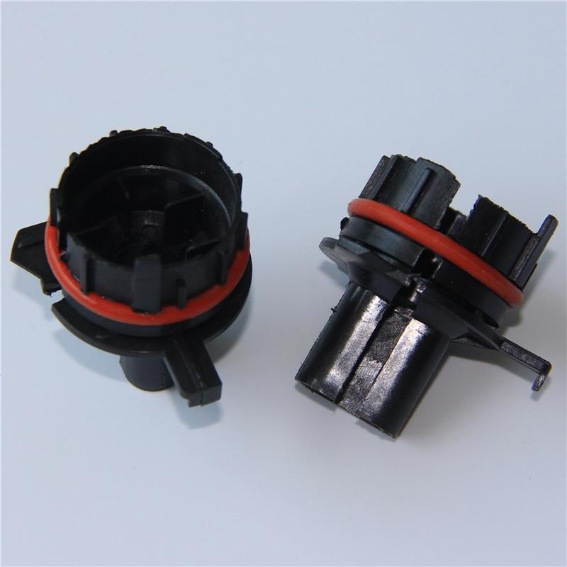 2pcs H7 Hid Xenon Conversion Bulb Holder Headlight Adapter