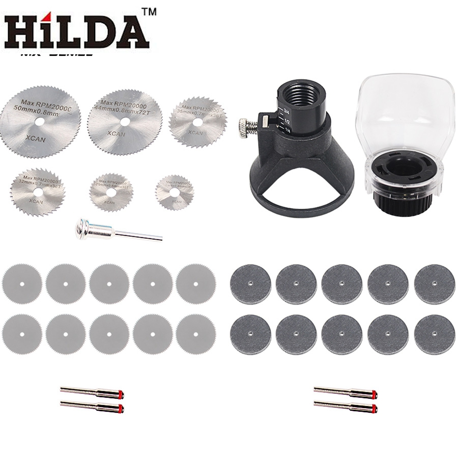 HILDA Rotary Tool Attachment Accessories Sets For Drill Dremel Rotary Tools Grinder Cutting Cut for Dremel multi electric grinder detailers grip a577 for dremel 4000 3000 rotary tool attachment mini drill handle bar tools accessory