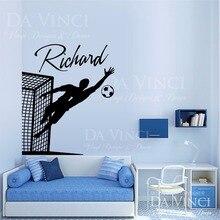 Goalkeeper Bedroom Personalized Art