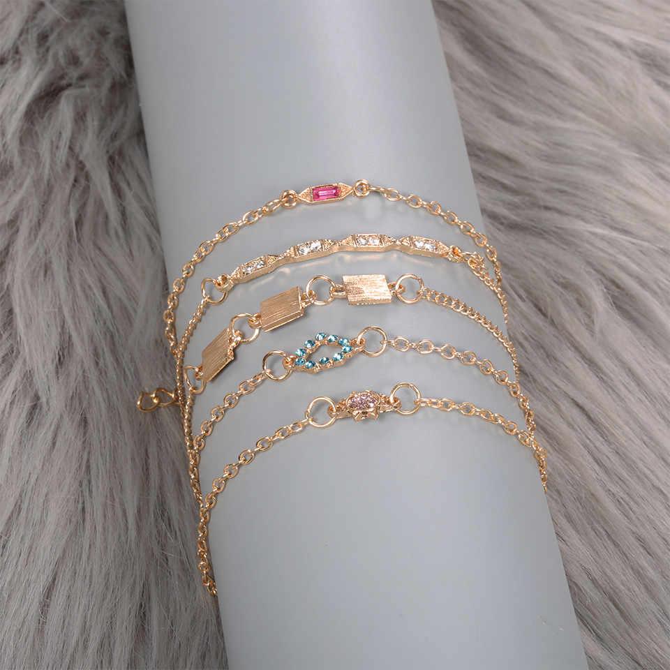 Pulseira bileklik אופנה פשוט אתני סגנון שרף צמיד רטרו נשי Creative צמיד צמידים לנשים armband #10