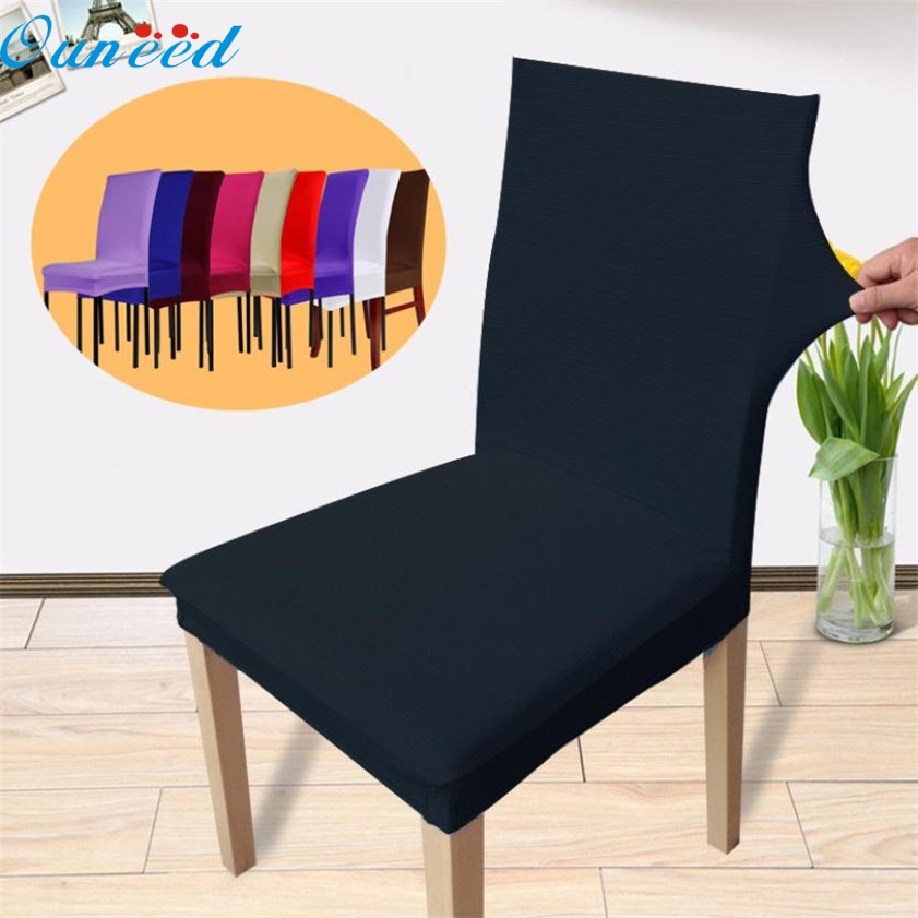 High Quality 1PC Stretch Banquet Slipcovers Dining Room Wedding Party Short Chair CoversChina
