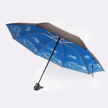 Alta qualidade barato unbrella chuva umbrella kidorable mini bolso cópia da flor das mulheres decorativas 3 dobre totes umbrela(China (Mainland))