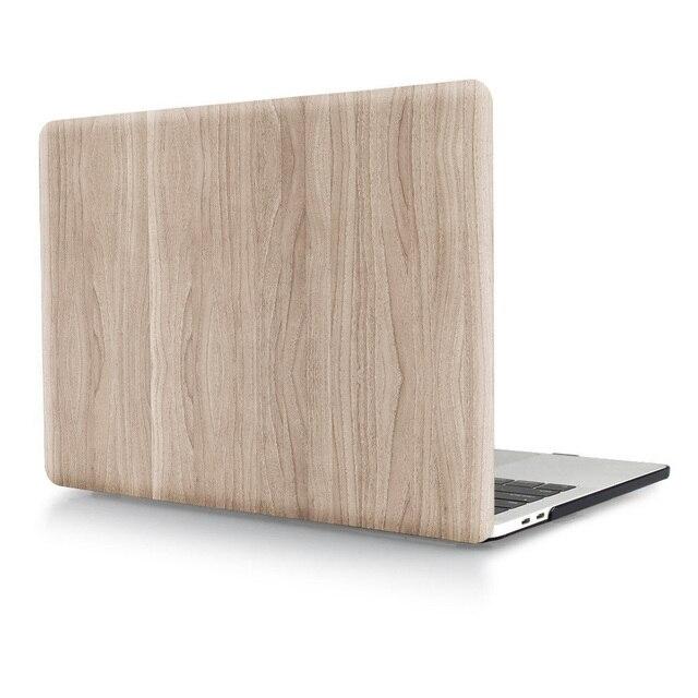"""Рисунок древесины Ноутбук Тела Shell Защитный Футляр для 2016 Новый Macbook Pro 13 """"A1706/A1708 Retina 15 A1707 w/без Сенсорной Панели"""